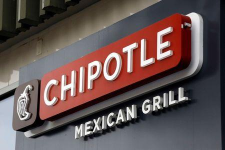 Chipotle Mexican Grill restaurant in San Francisco, California
