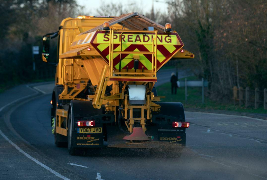 Gritter lorries have already taken to the roads (PA)
