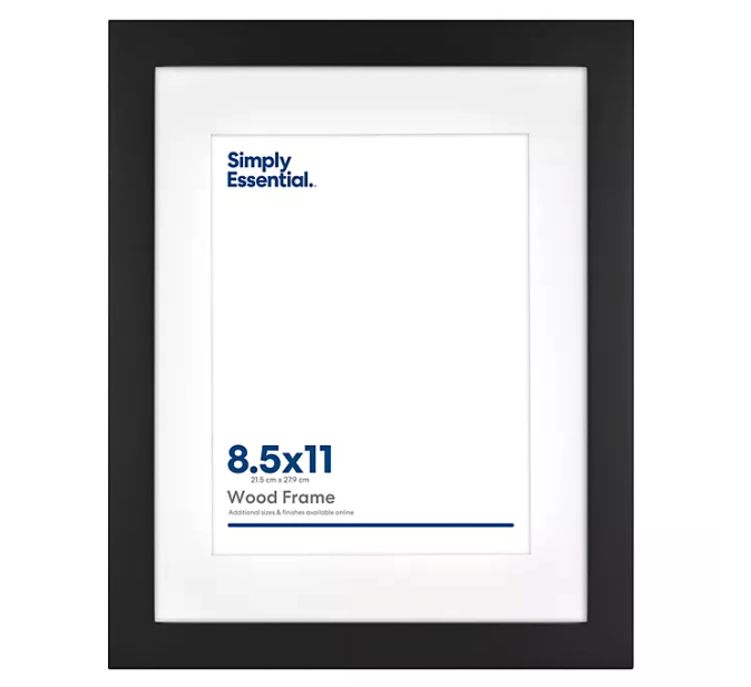Picture Frame and Display Collection. Image via Bed Bath and Beyond.