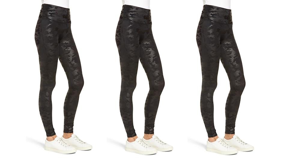 Spanx Faux Leather Camo Leggings (Photo: Nordstrom)