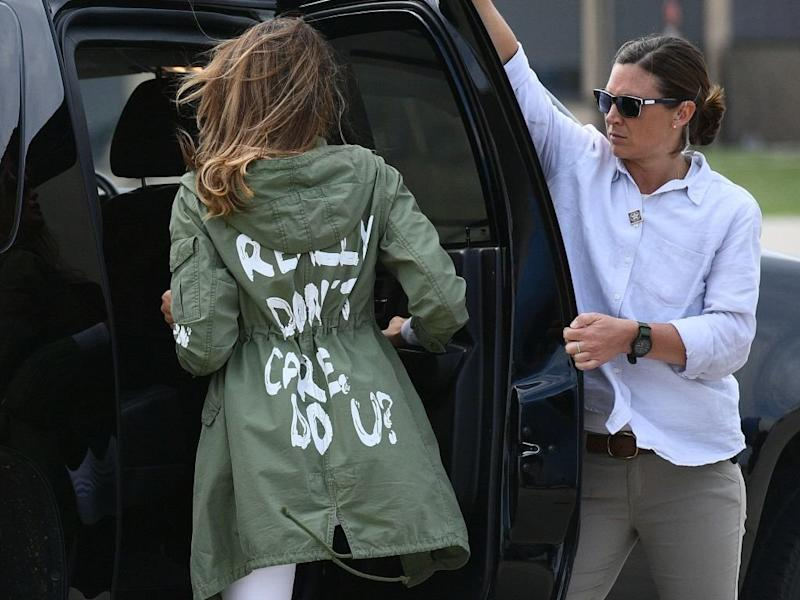 melania i dont care