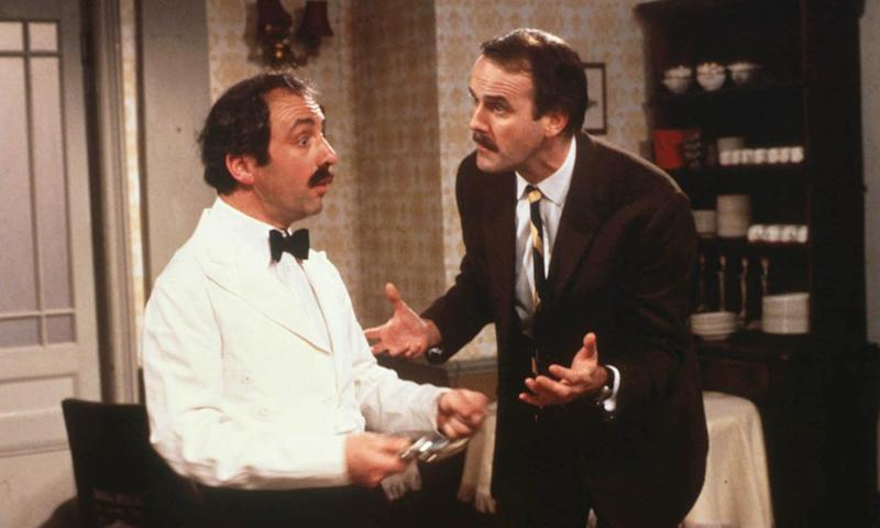 UKTV channels include Gold, which show reruns of classic like Fawlty Towers