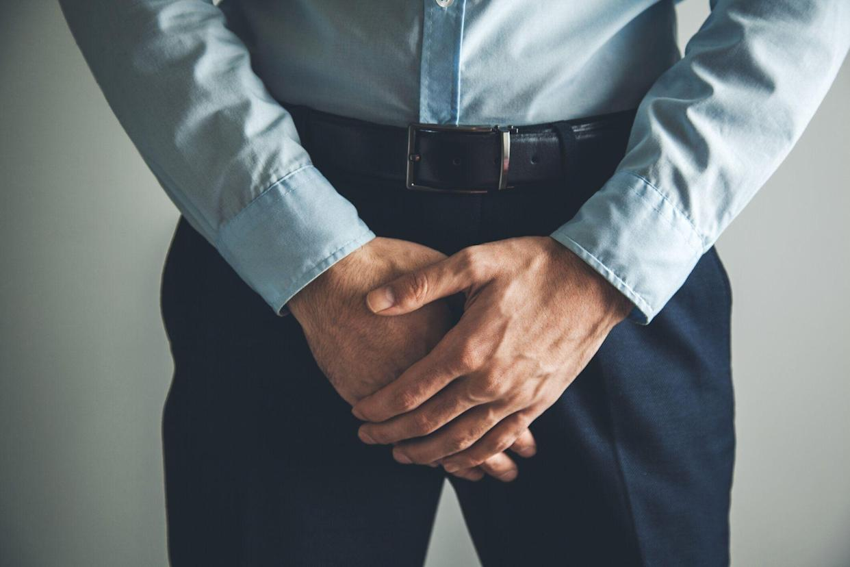A side effect of prostate cancer treatment can be bladder problems [Photo: Getty]