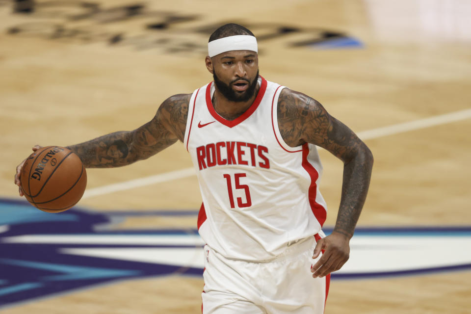 Houston Rockets center DeMarcus Cousins