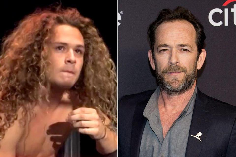 Jack Perry (left) and Luke Perry