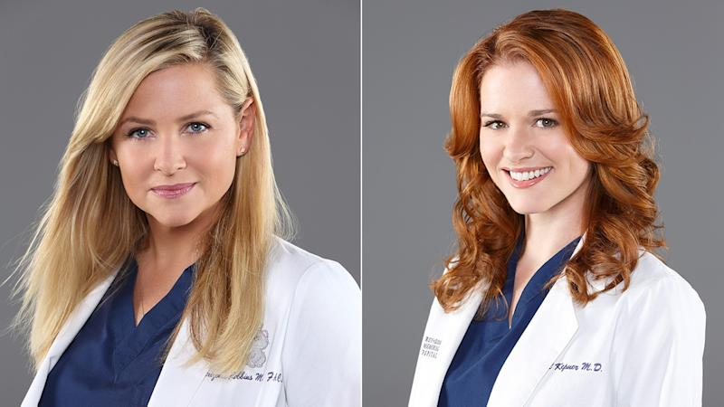'Grey's Anatomy' Stars Sarah Drew and Jessica Capshaw Exiting After Season 14
