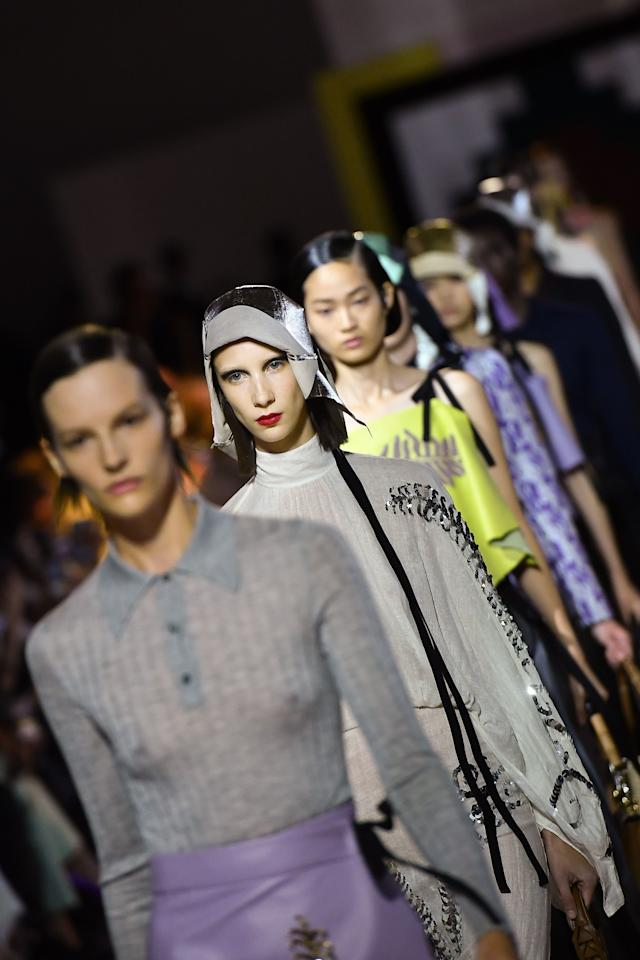 """Starting with spring 2020, brands under the Prada Group, including Prada and Miu Miu, will no longer feature fur in their collections. (In past seasons they've used mink, fox, and rabbit in their pieces.) In a <a href=""""https://www.pradagroup.com/en/sustainability/environment-csr/pradagroup-fur-free.html"""">statement</a>, Miuccia Prada said this decision was a result of """"positive dialogue with the Fur Free Alliance, in particular with LAV and the Humane Society of the United States."""""""
