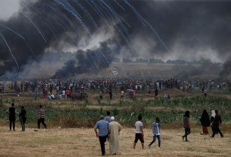 Unrest on the border of Israel injured more than a thousand people