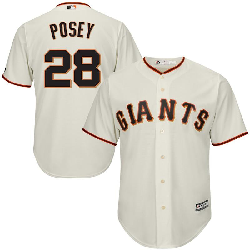 Posey Giants Cool Base Player Jersey
