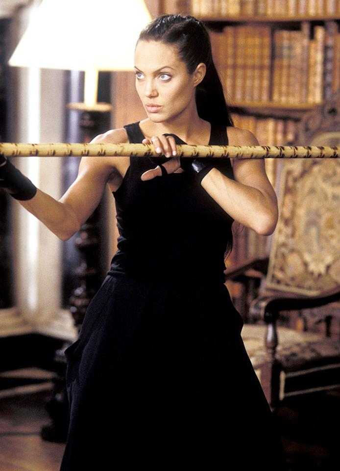 """Angelina Jolie in """"Tomb Raider: The Cradle of Life"""" - 2003"""