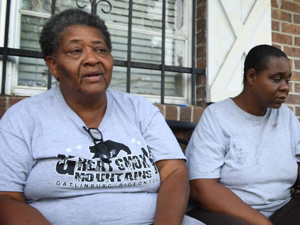 Ruth Hardrict and her daughter Sharon live in Cleveland, Mississippi where Fakorede works.