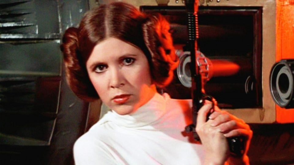 Carrie Fisher in <em>Star Wars</em> (Lucasfilm)