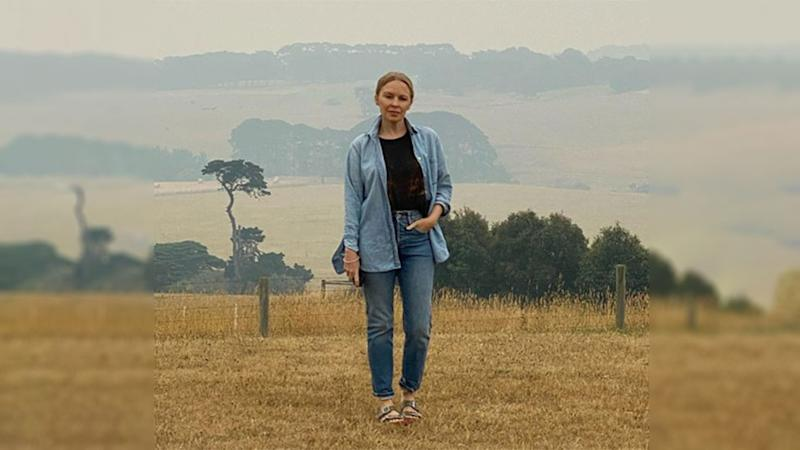 The singer called the devastation caused by the fires 'heartbreaking '. Photo: Instagram/kylieminogue.