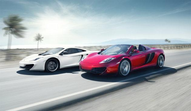 McLaren MP4-12C and 12C Spider