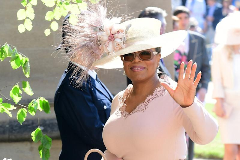 Oprah at the Royal wedding (IAN WEST/AFP/Getty Images)