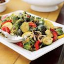 """<p>Combine fresh fall squash with some tasty brussels sprouts for an unforgettable side dish.<br></p><p><em><a href=""""https://www.womansday.com/food-recipes/food-drinks/recipes/a18522/brussels-sprouts-squash-saute-ghk1107/"""" rel=""""nofollow noopener"""" target=""""_blank"""" data-ylk=""""slk:Get the Brussels Sprouts and Squash Sauté recipe."""" class=""""link rapid-noclick-resp""""><strong>Get the Brussels Sprouts and Squash Sauté recipe.</strong></a></em></p>"""