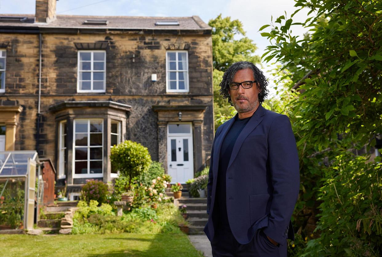 Programme Name: A House Through Time S4 - TX: n/a - Episode: A House Through Time S4 - Iconic (No. Iconic) - Picture Shows: at Grosvenor Mount House David Olusoga - (C) Claire Wood - Photographer: Claire Wood