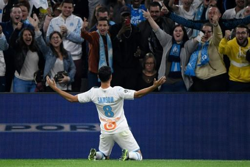 Morgan Sanson notched his first goal of the season as Marseille beat Lille 2-1