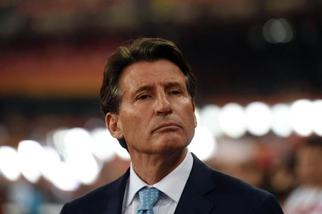 "IAAF president Sebastian Coe has said he wants ""engagement not isolation"" to settle the doping scandal (AFP Photo/Greg Baker)"