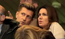 "<em>Good Morning Britain</em>'s Susanna Reid parted ways with Crystal Palace chairman Steve Parish in April after confirming their romance last year. Reid publicly<a href=""https://uk.news.yahoo.com/lets-not-dwell-im-fine-susanna-reid-forced-open-steve-parish-split-live-air-082409926.html"" data-ylk=""slk:addressed the break-up on GMB;outcm:mb_qualified_link;_E:mb_qualified_link;ct:story;"" class=""link rapid-noclick-resp yahoo-link""> addressed the break-up on GMB</a>, declaring that the pair were ""still friends"" but that she was now single. (Marc Atkins/Getty Images)"