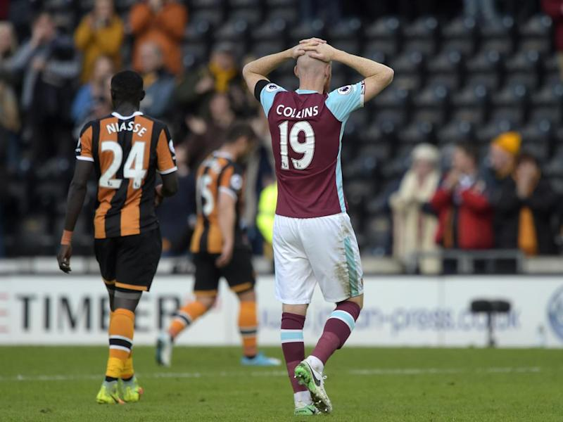 West Ham suffered a 2-1 defeat to struggling Hull (Getty)