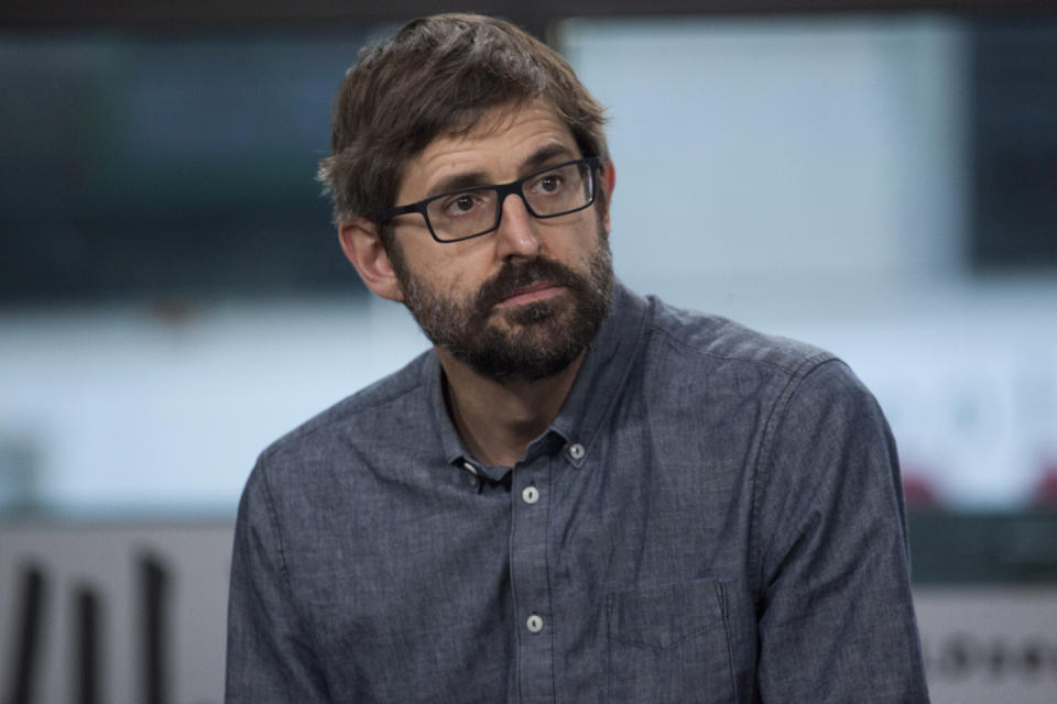 "Louis Theroux attends Build Series to discuss ""My Scientology Movie"" at Build Studio on March 9, 2017 in New York City.  (Photo by Santiago Felipe/Getty Images)"