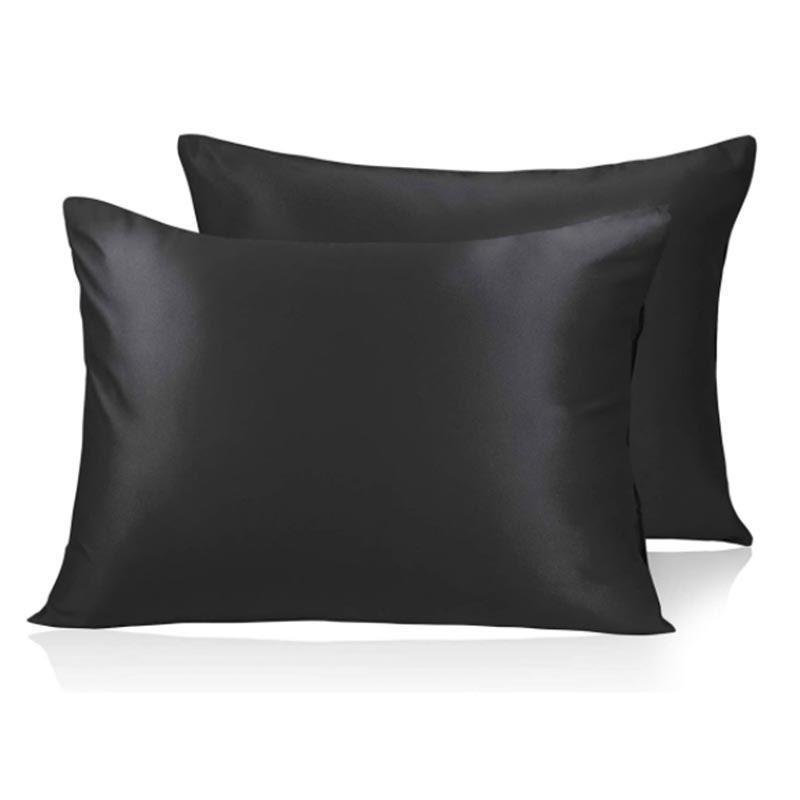 """Satin pillowcases can be just as soft as <a href=""""https://www.glamour.com/gallery/best-silk-pillowcases?mbid=synd_yahoo_rss"""" rel=""""nofollow noopener"""" target=""""_blank"""" data-ylk=""""slk:silk ones"""" class=""""link rapid-noclick-resp"""">silk ones</a>, except you can get <a href=""""https://www.glamour.com/gallery/amazon-gift-ideas?mbid=synd_yahoo_rss"""" rel=""""nofollow noopener"""" target=""""_blank"""" data-ylk=""""slk:a set on Amazon"""" class=""""link rapid-noclick-resp"""">a set on Amazon</a> for much less. $13, Amazon. <a href=""""https://www.amazon.com/dp/B07LDZKKJM/ref=vp_d_pb_TIER2_cml_lp_B07XCY8DND_pd?"""" rel=""""nofollow noopener"""" target=""""_blank"""" data-ylk=""""slk:Get it now!"""" class=""""link rapid-noclick-resp"""">Get it now!</a>"""
