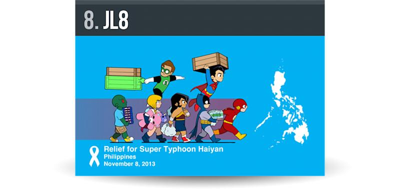 JL8-88 Organizations Who are Helping Yolanda / Haiyan Victims