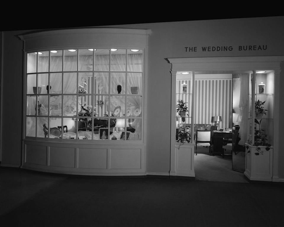 <p>During the Jazz Age, wedding vendors began to see the profit potential of marketing to brides, and stores began opening bridal departments that offered all kinds of merchandise geared toward weddings, including white bridal dresses. </p>
