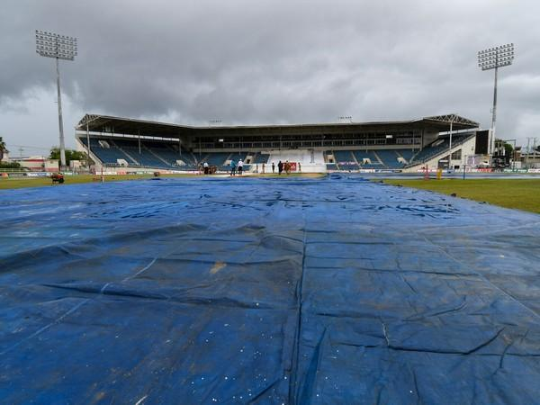 Day two of the second Test was washed out due to rain (Image: ICC)