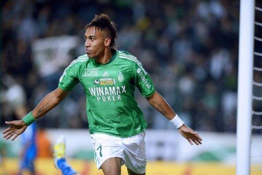 Aubameyang added a late second -- his eighth goal of the season -- as Les Verts disposed of lowly Troyes