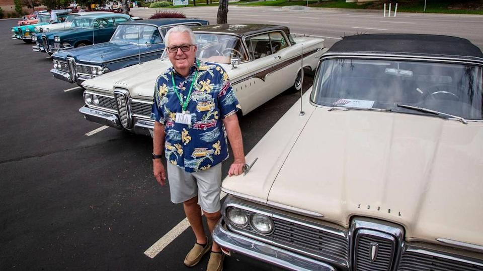 Dave Sinclair, of Eagle, founded the Edsel Owners Club. It's holding its 52nd-annual convention this week in Boise.