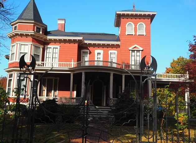 The King home In Bangor, Maine. Source: Supplied