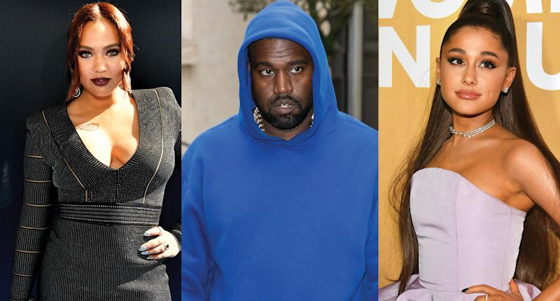 Ayesha Curry, Kanye West and Ariana Grande have all protested. (Photo: Getty Images)