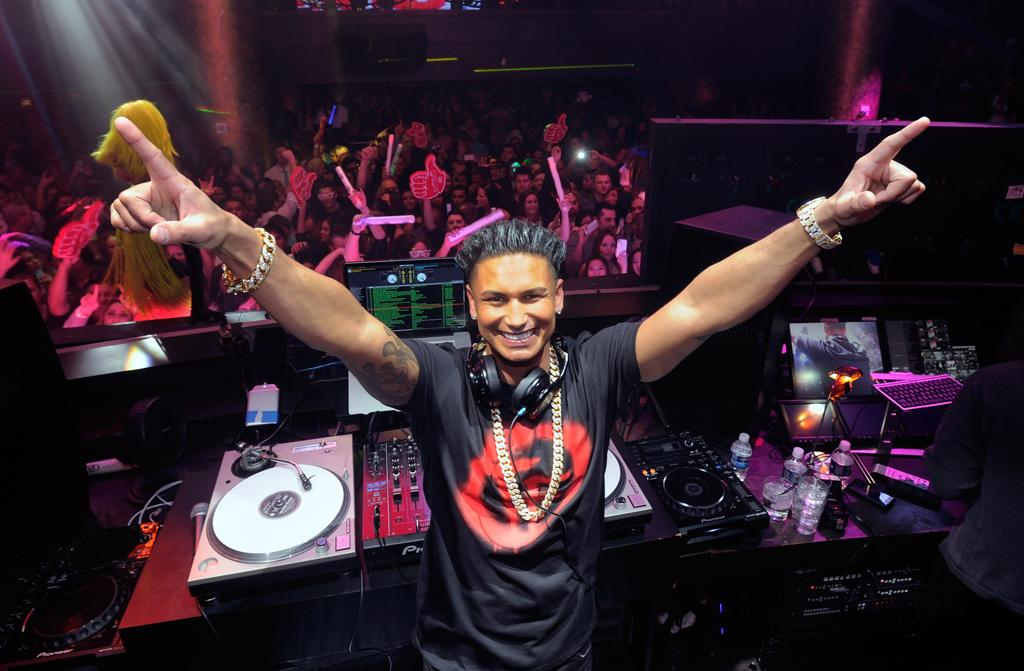 "LAS VEGAS, NV - JANUARY 19:  Television personality DJ Paul ""Pauly D"" DelVecchio appears at his kick-off of his year-long residency at Haze Nightclub at the Aria Resort & Casino at CityCenter on January 19, 2013 in Las Vegas, Nevada.  (Photo by David Becker/WireImage) *** Local Caption *** Paul DelVecchio"