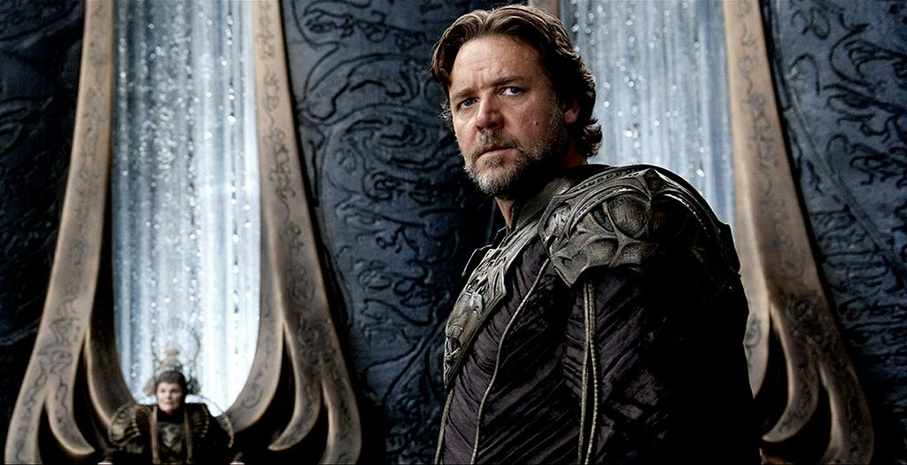 RUSSELL CROWE as Jor-El in Warner Bros. Pictures? and Legendary Pictures? action adventure ?MAN OF STEEL,? a Warner Bros. Pictures release.