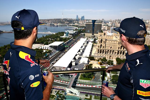 "20 Bakú Street Circuit 2016 <span class=""copyright"">Red Bull Content Pool</span>"