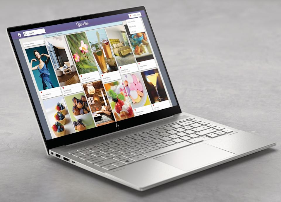 The HP Envy 14 promises powerful performance, and a suite of upgrades for working from home. (Image: HP)
