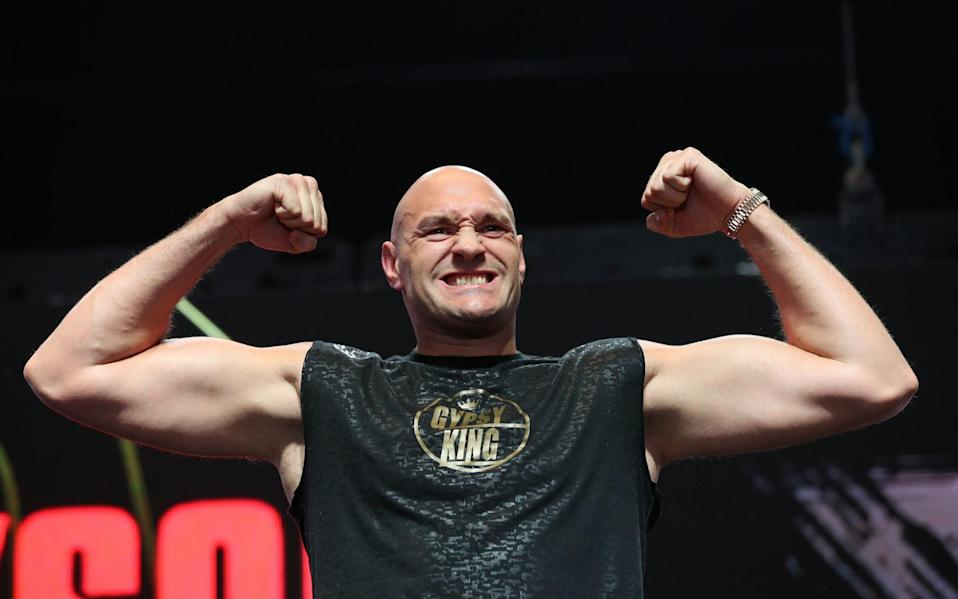 Tyson Fury —BBC refusing to remove Tyson Fury from Sports Personality of the Year award shortlist despite his demands - PA