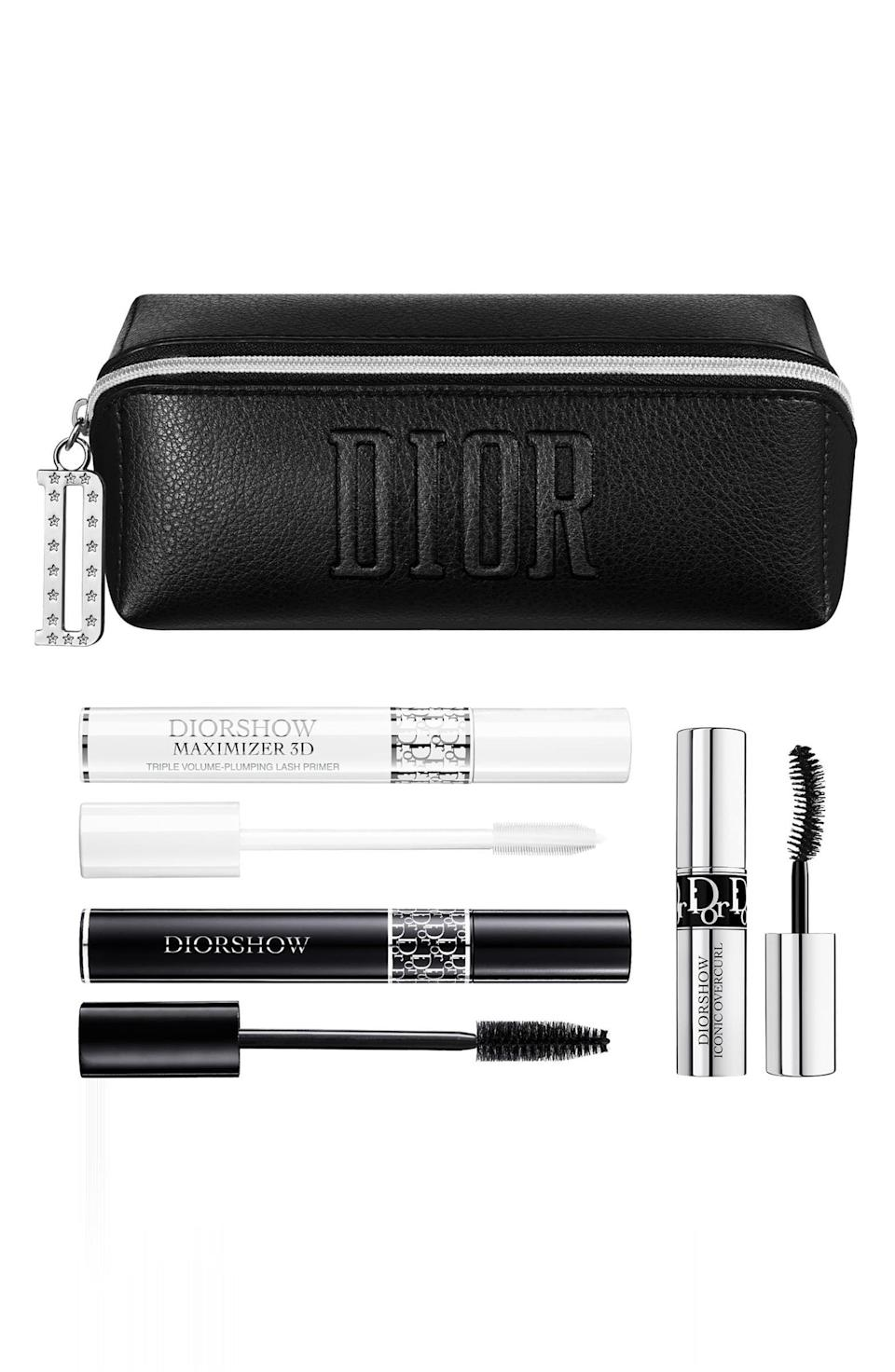 "<p><strong>DIOR</strong></p><p>nordstrom.com</p><p><a href=""https://go.redirectingat.com?id=74968X1596630&url=https%3A%2F%2Fwww.nordstrom.com%2Fs%2Fdior-diorshow-volumizing-mascara-set%2F5586860&sref=https%3A%2F%2Fwww.marieclaire.com%2Fbeauty%2Fg33595624%2Fnordstrom-anniversale-sale-beauty-products-2020%2F"" rel=""nofollow noopener"" target=""_blank"" data-ylk=""slk:SHOP IT"" class=""link rapid-noclick-resp"">SHOP IT </a></p><p>Nordstrom's Anniversary Sale is also packed with exclusive offers you can't get anywhere else. If you want to bring the Markle Sparkle to your beauty routine, this voluminizing mascara set was used on the Duchess of Sussex at her 2018 wedding. (Psst...you can buy <a href=""https://www.nordstrom.com/s/dior-maximizing-lip-care-set/5586864"" rel=""nofollow noopener"" target=""_blank"" data-ylk=""slk:Dior's lipstick kit"" class=""link rapid-noclick-resp"">Dior's lipstick kit</a> too, which was also used on the big day.) </p>"