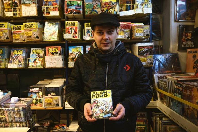 For Serbian novelist Marko Selic, the comics are a major source of inspiration