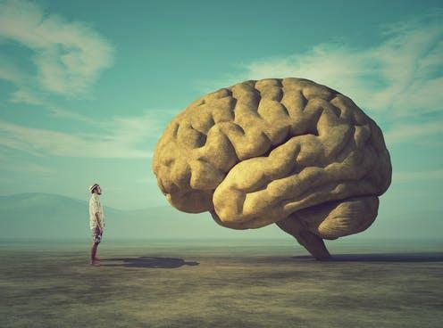 """<span class=""""caption"""">The brain is a mystery.</span> <span class=""""attribution""""><a class=""""link rapid-noclick-resp"""" href=""""https://www.shutterstock.com/image-photo/young-conceptual-image-large-stone-shape-1032541603"""" rel=""""nofollow noopener"""" target=""""_blank"""" data-ylk=""""slk:Orla/Shutterstock"""">Orla/Shutterstock</a></span>"""