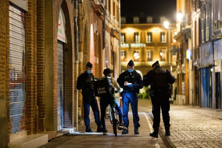 The French authorities imposed a curfew this month that now requires about 46 million people -- two-thirds of the population -- to be home by 9:00 pm