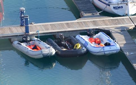 Small boats similar to the ones used on Easter Monday - Credit: Steve Finn