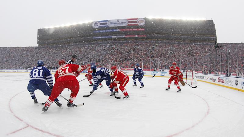NHL outdoor games on NBCSN: 2014 Winter Classic features 100K fans