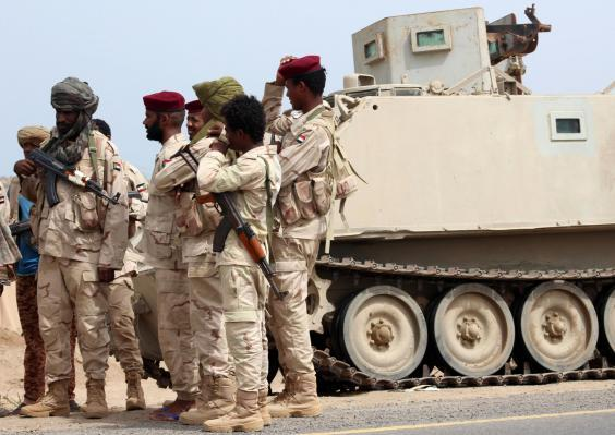 At its peak between 2016 and 2017 at least 40,000 Sudanese soldiers were at some point deployed to fight in Yemen (AFP via Getty)