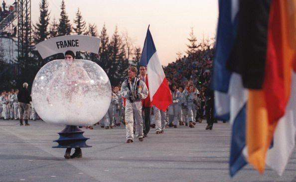 <p>The opening ceremony includes dramatic dance numbers by performers clad in unusual snow globe-inspired costumes. </p>