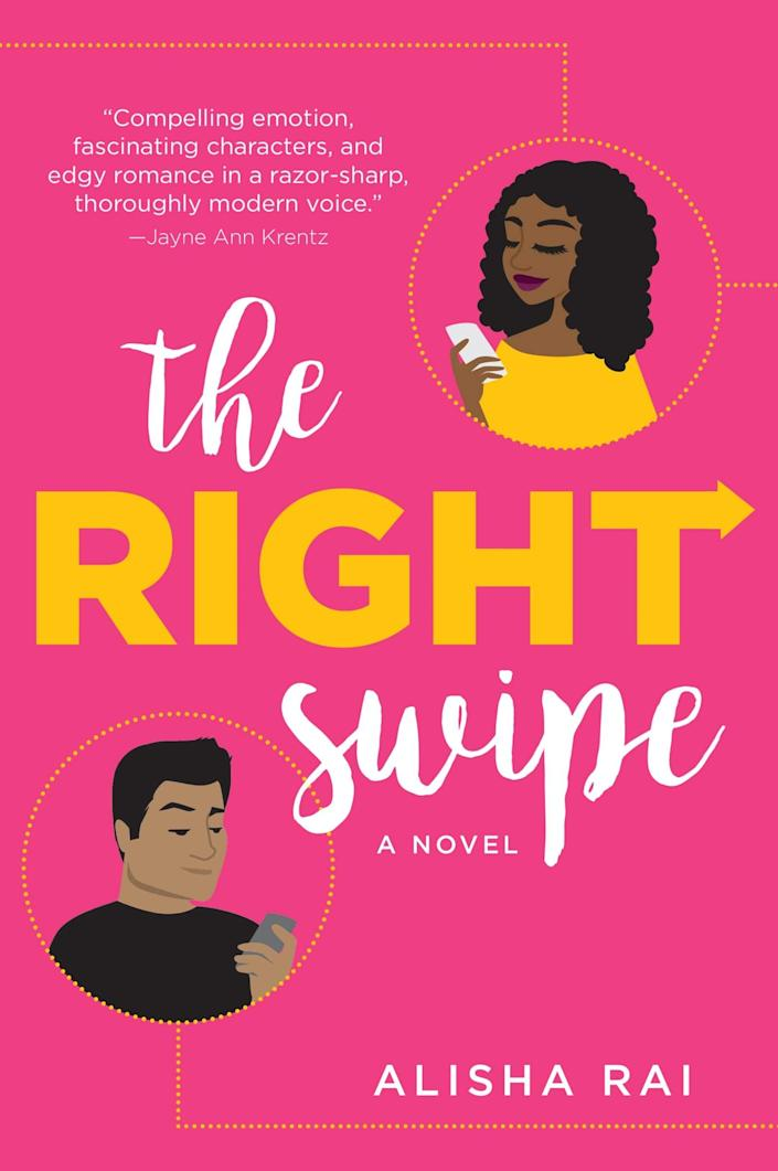 <p>Rhiannon Hunter may be the creator of a successful dating app in <span><strong>The Right Swipe</strong> by Alisha Rai</span> ($13), but love isn't something she's looking for IRL. So when her past fling, former pro-football player Samson Lima, pops up as the new ambassador for the dating company she's looking to acquire, why can't she keep things strictly business?</p> <p>I really loved that all the characters in this book are people of color, including Samson, who is Samoan, and Rhiannon, who is Black. It's a truly modern, second-chance love story that combines heart and heat.</p>