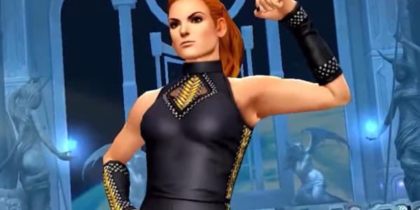 the king of fighters all star wwe