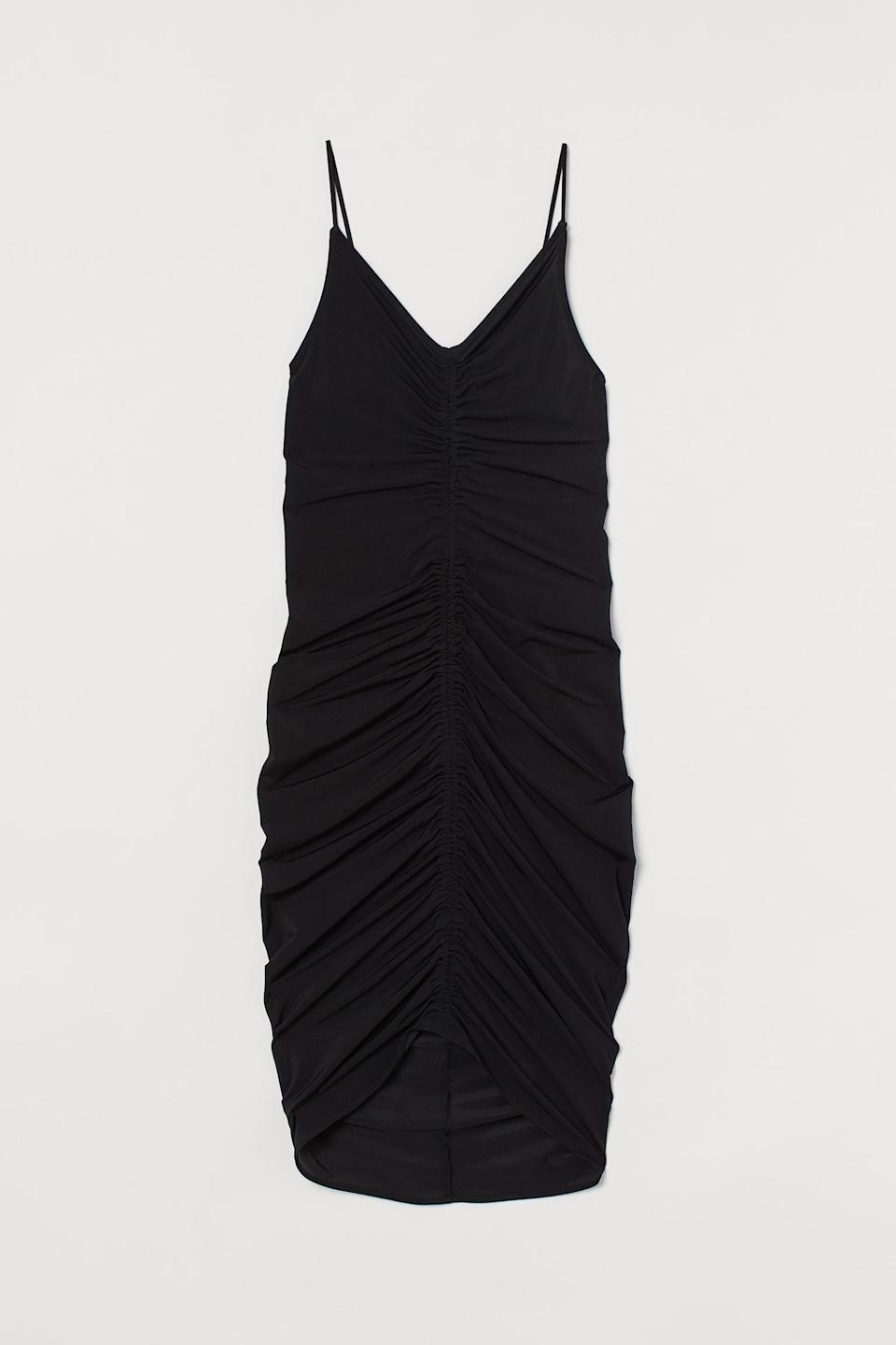 <p>This <span>H&amp;M Draped Dress</span> ($19, originally $50) will take you from day to night in style.</p>